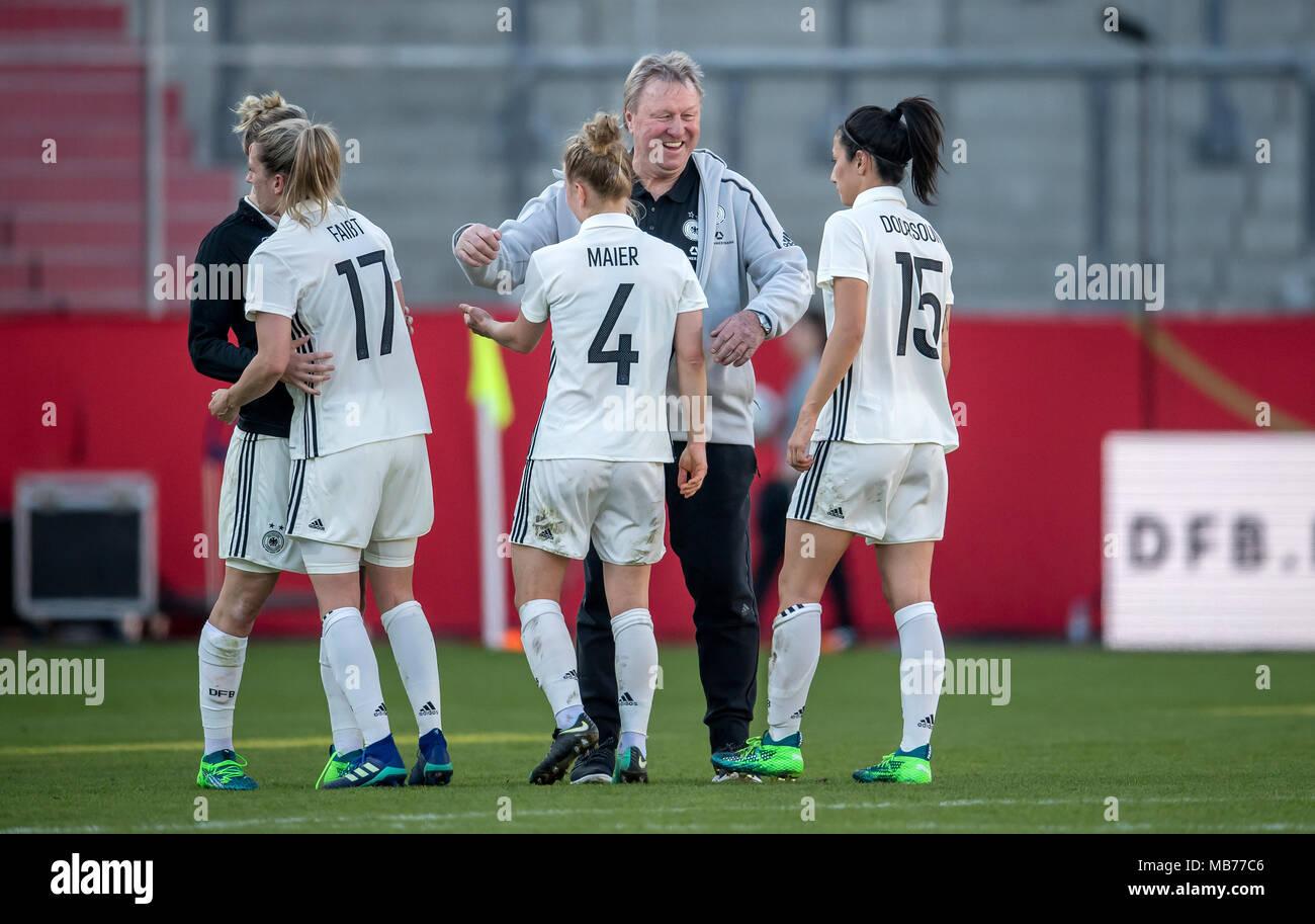 Final Jubilation Germany With Bundescoach Horst Hrubesch Ges