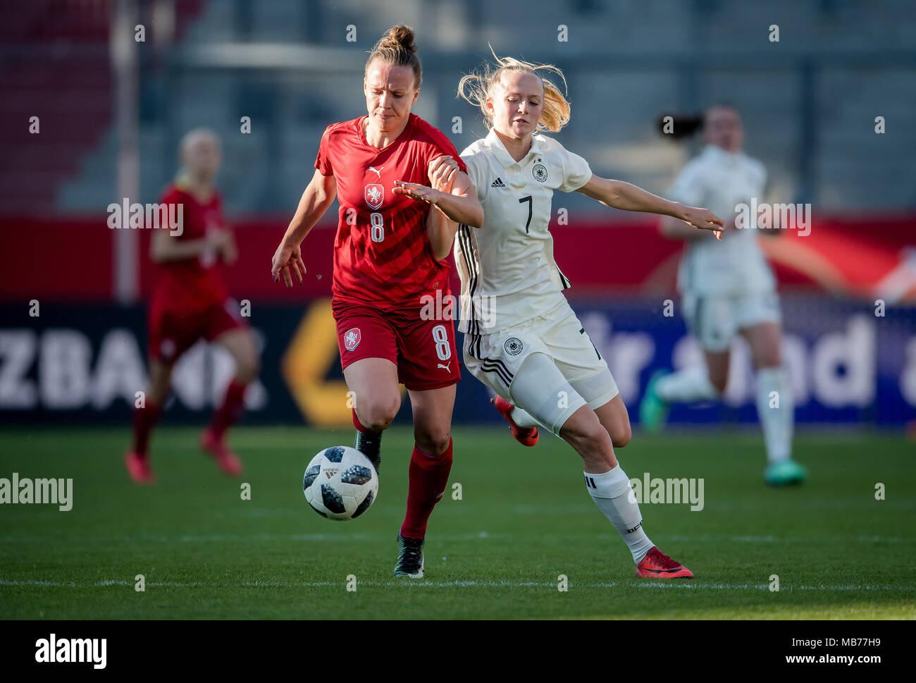 Lea Schueller Germany Versus Jana Sedlackova Tschechien