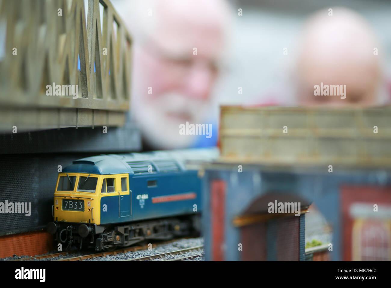 Model Railway Layout Stock Photos & Model Railway Layout Stock