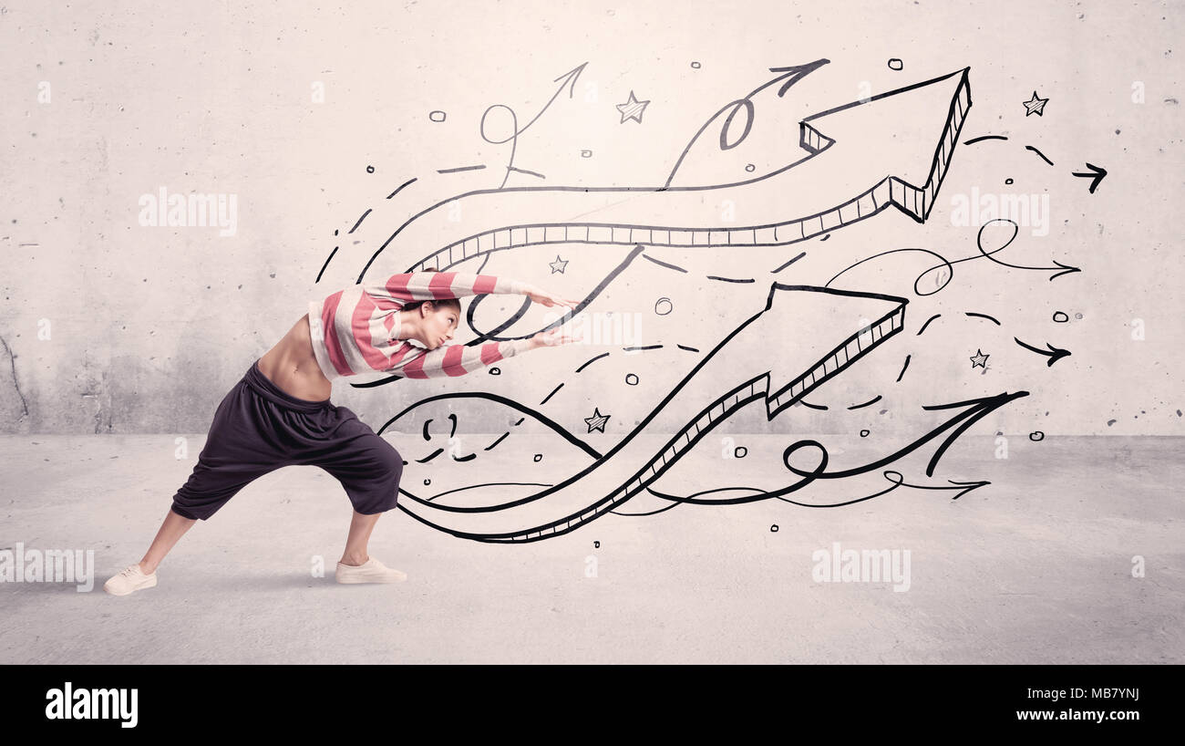 Drawing Lines With Arrows In Photo : Guy lines stock photos images alamy