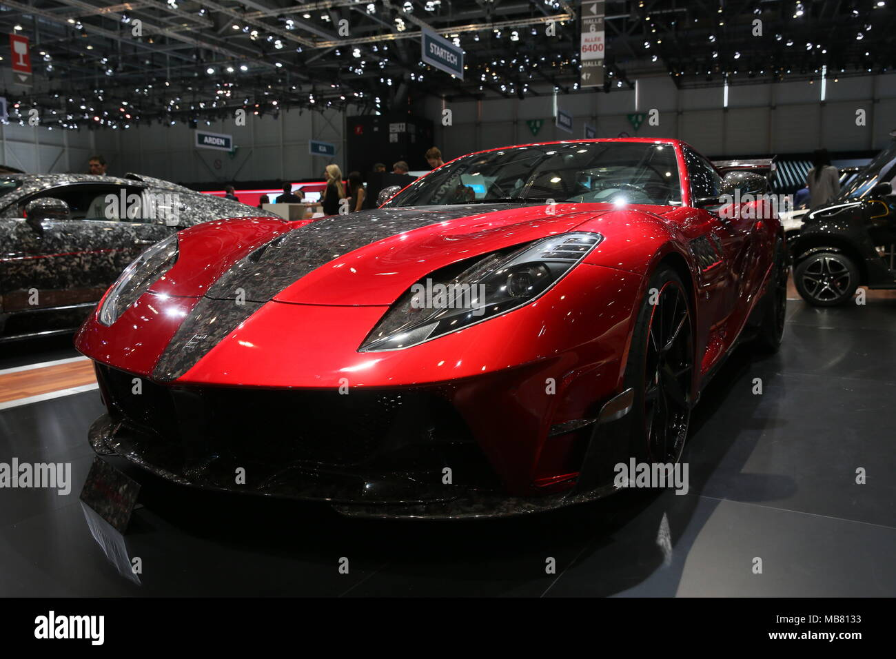 The Cars Of The Geneva International Motor Show Featuring Mansory Stallone Ferrari 812 Superfast Where Geneva Switzerland When 07 Mar 2018 Credit Michael Wright Wenn Com Stock Photo Alamy