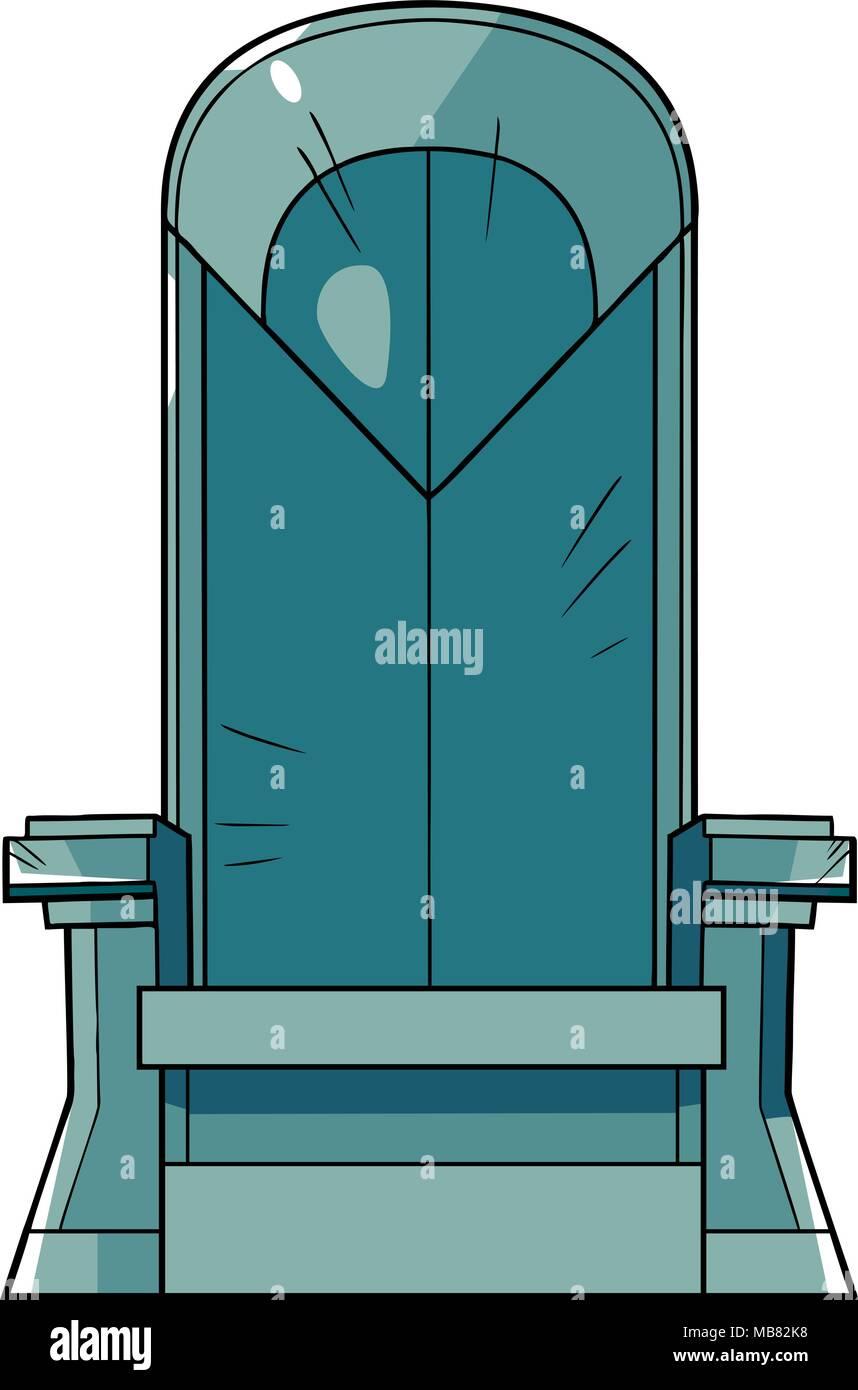 Iron Throne Illustration - Stock Vector