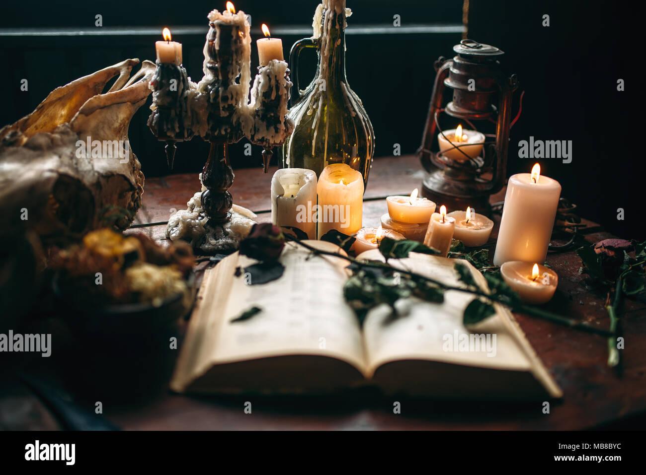 Ritual Magic Objects Stock Photos & Ritual Magic Objects Stock