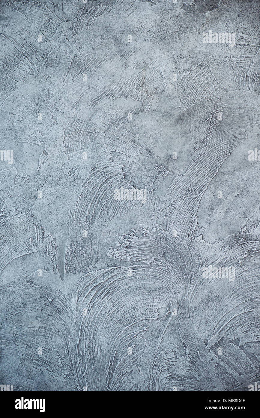 Texturized grey putty  Vintage or grungy background of