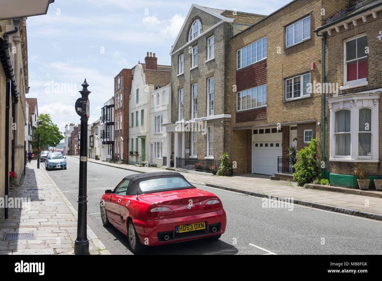 Bugle Street, Old Town, Southampton, Hampshire, England, United Kingdom - Stock Image
