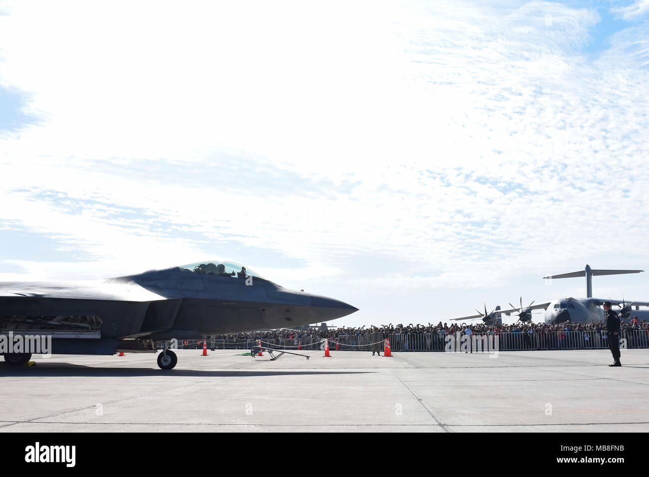 U S  Air Force Senior Airman Alex Niccum, Air Combat Command F-22