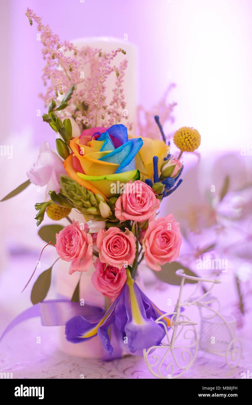 Wedding Flower Centerpieces Stock Photos & Wedding Flower ...