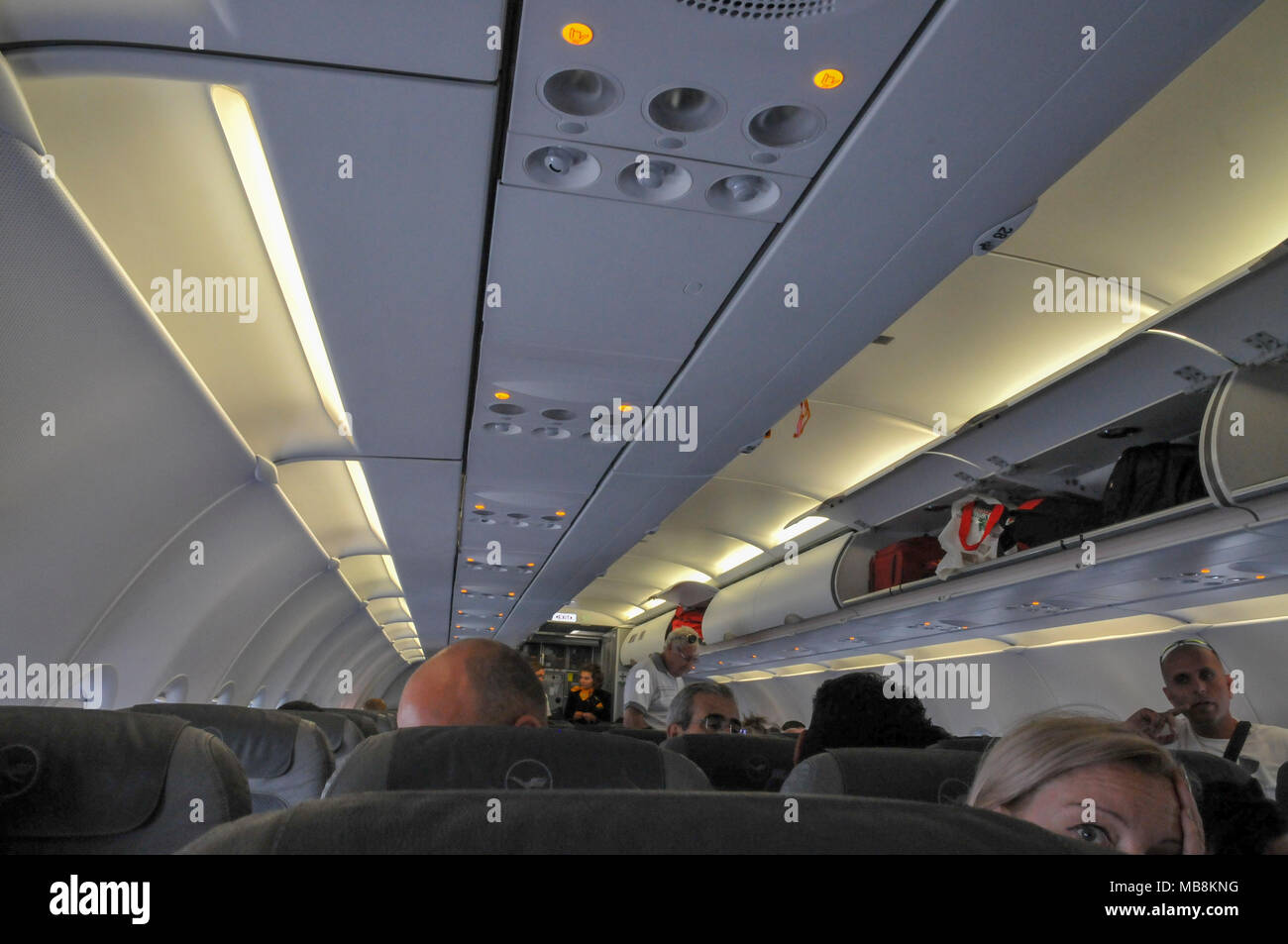 Airline Cabin Stock Photos Airline Cabin Stock Images Alamy