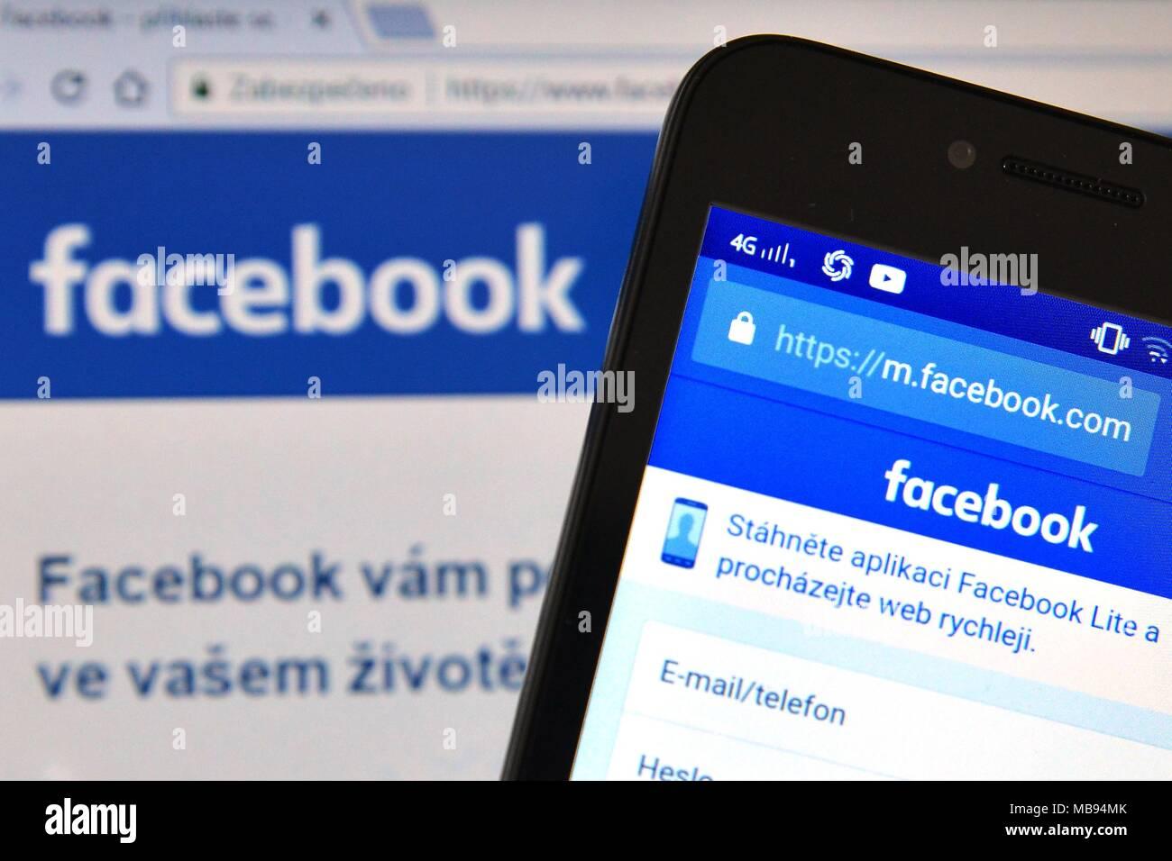 www facebook login mobile