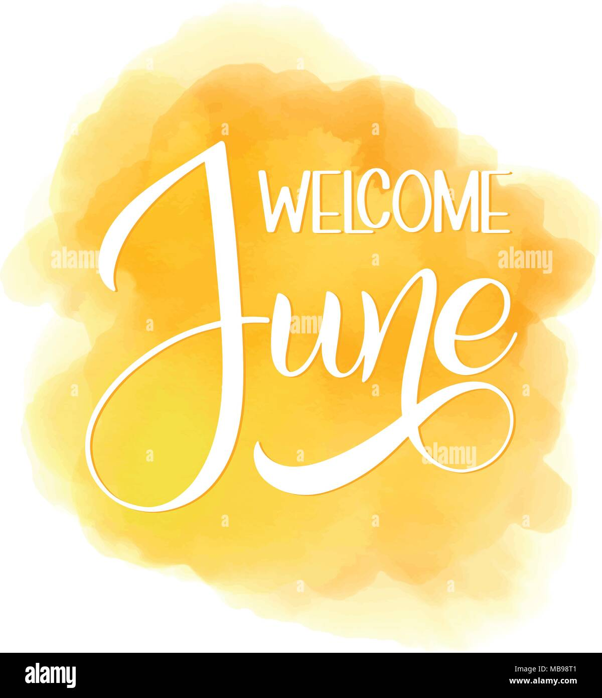 Welcome june lettering elements for invitations posters greeting welcome june lettering elements for invitations posters greeting cards seasons greetings m4hsunfo