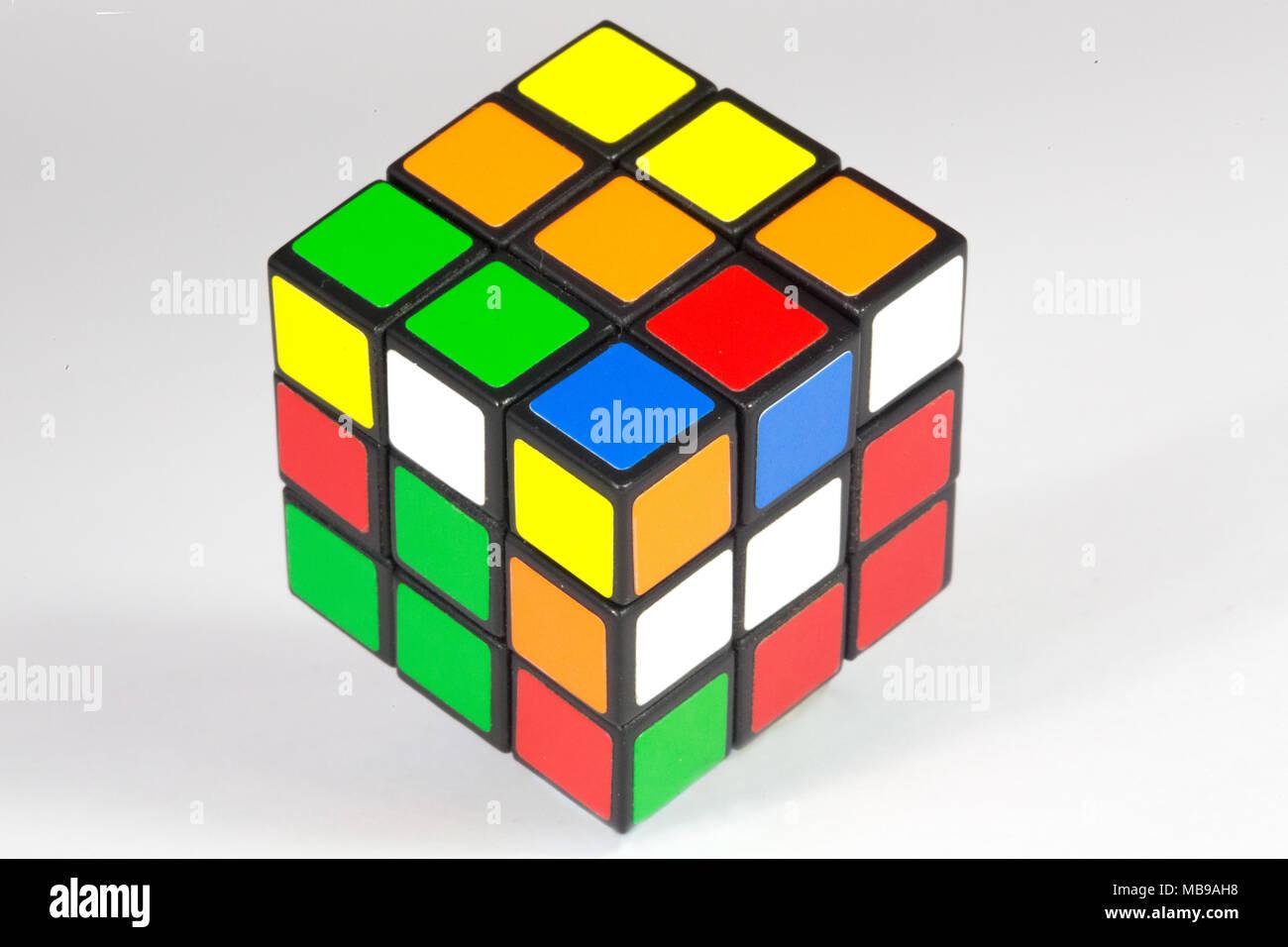 Kids Puzzles Stock Photos Images Alamy Zz Magic Cube A Rubiks Originally Is 3 D Combination Puzzle