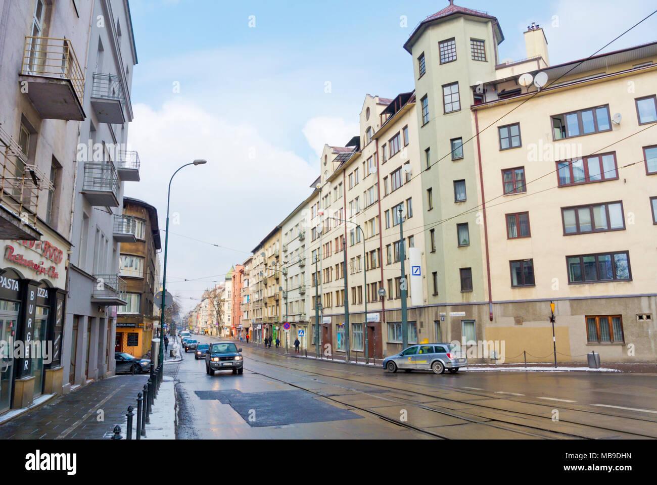 Starowislna, Krakow, Malopolska, Poland - Stock Image