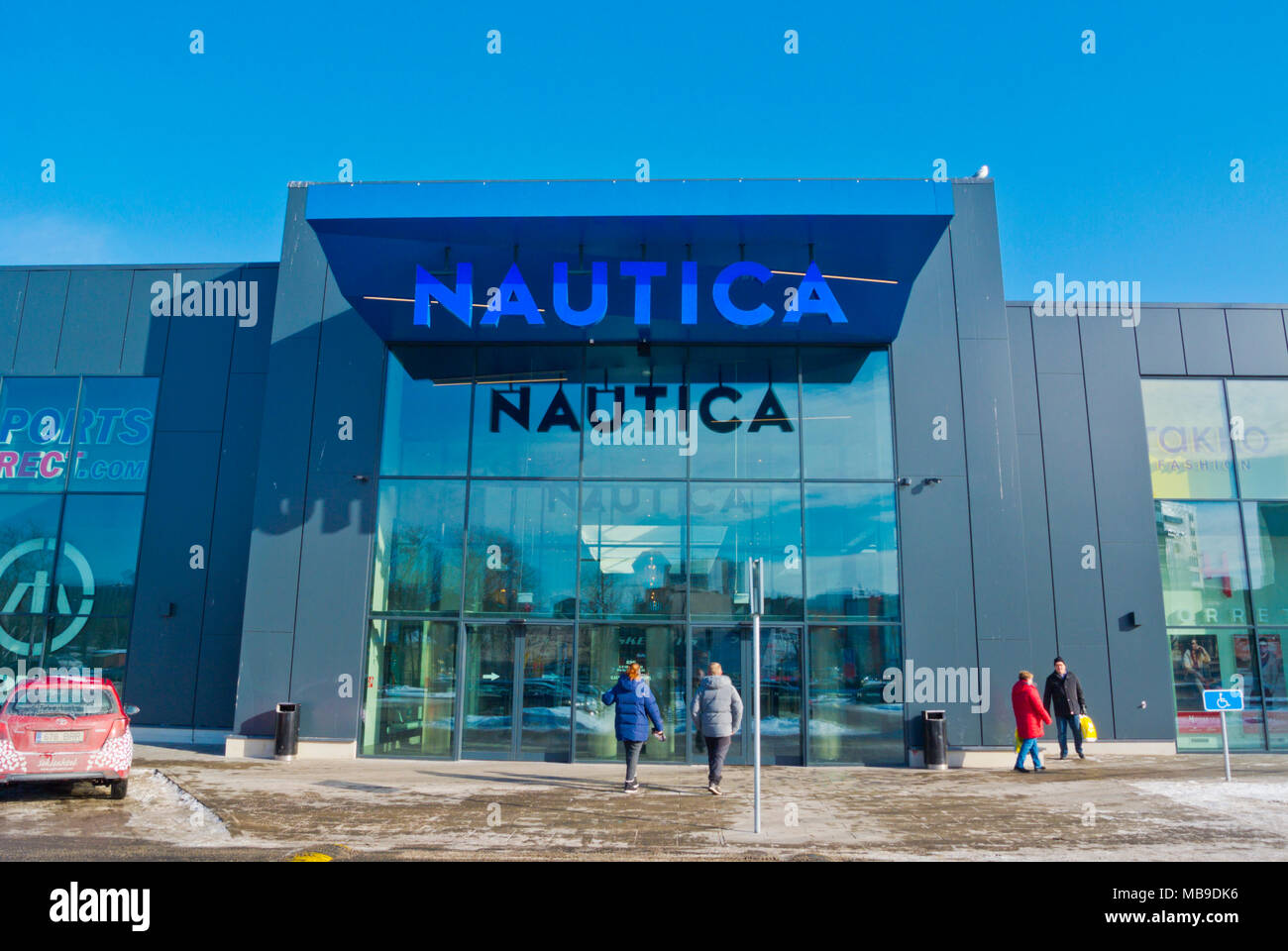 64089ff5133 Nautica, shopping centre, Port, Tallinn, Estonia Stock Photo ...