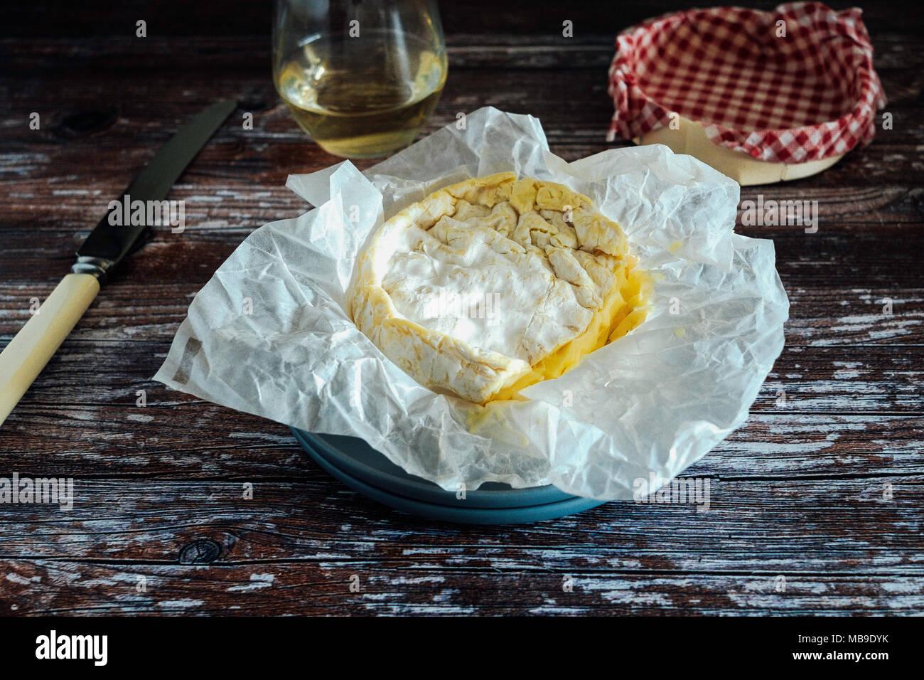 Camembert - Stock Image