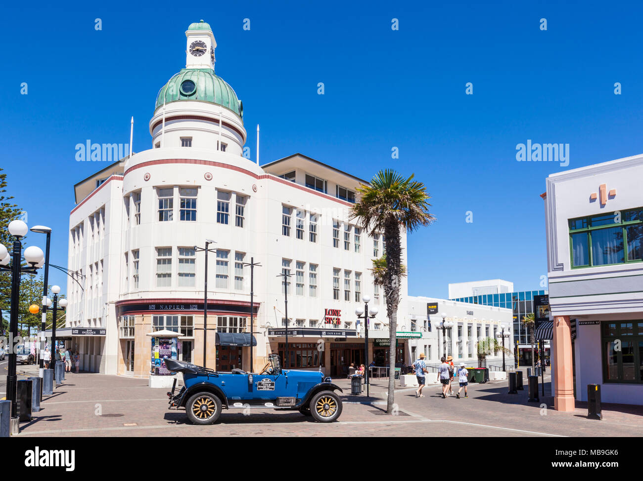 new zealand napier new zealand the dome in the t g building and