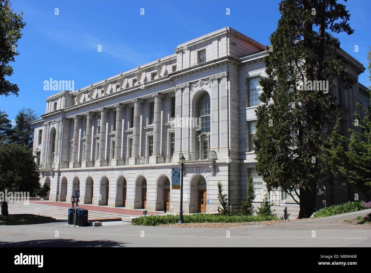 University of california berkeley wheeler hall