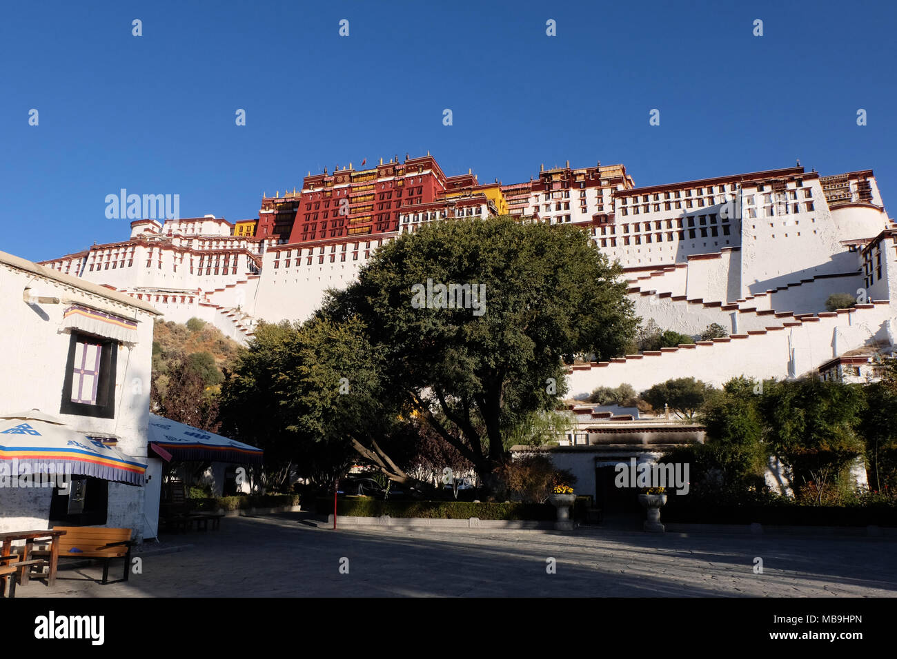 Potala Palace, Tibet, China - Stock Image
