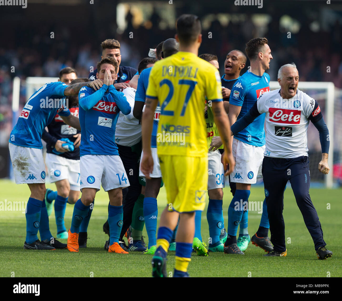Ssc Napoli Team During Soccer Stock Photos   Ssc Napoli Team During ... ec224d6ae446f