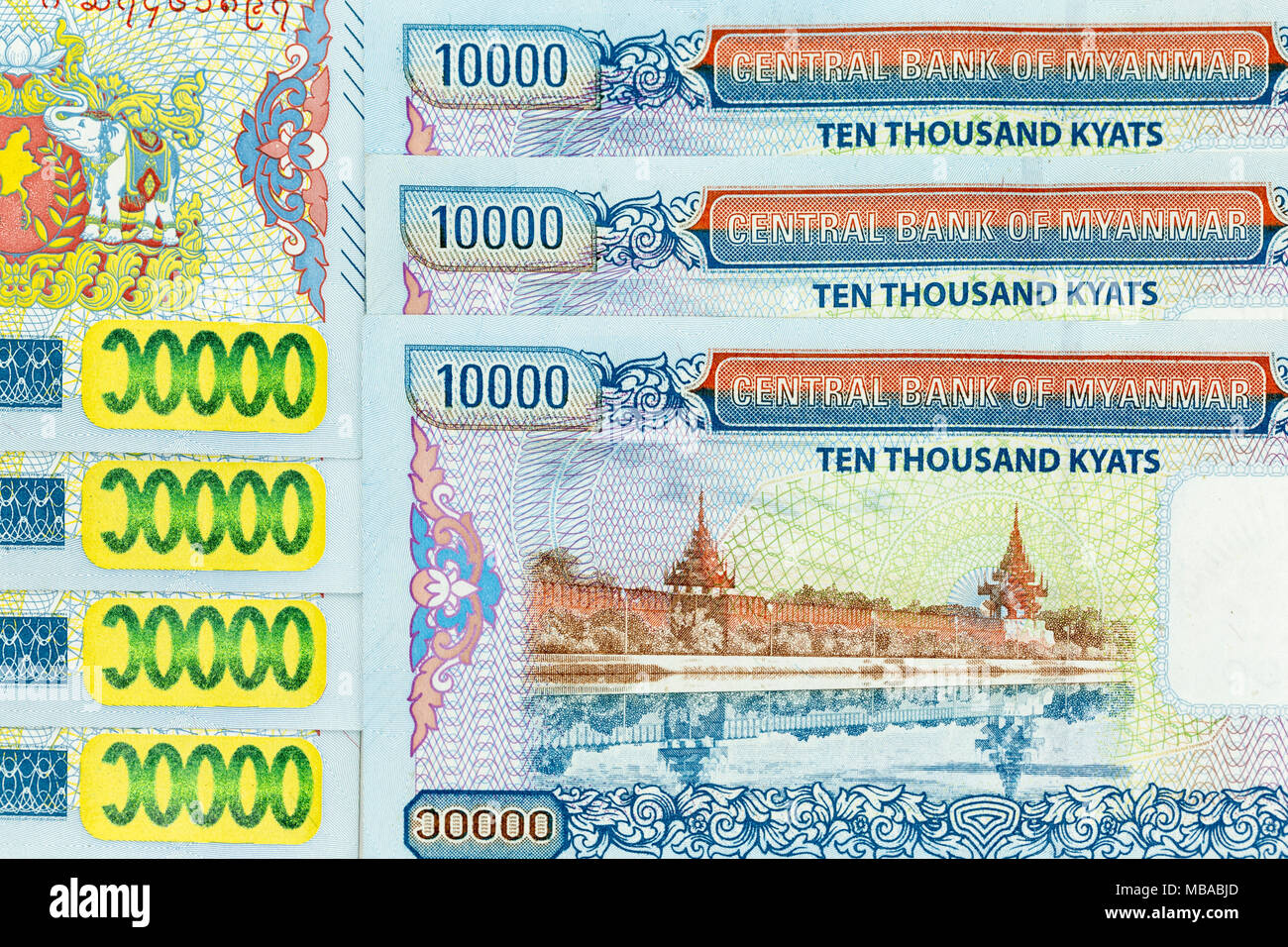 Myanmar Money Currency High Resolution Stock Photography and Images - Alamy