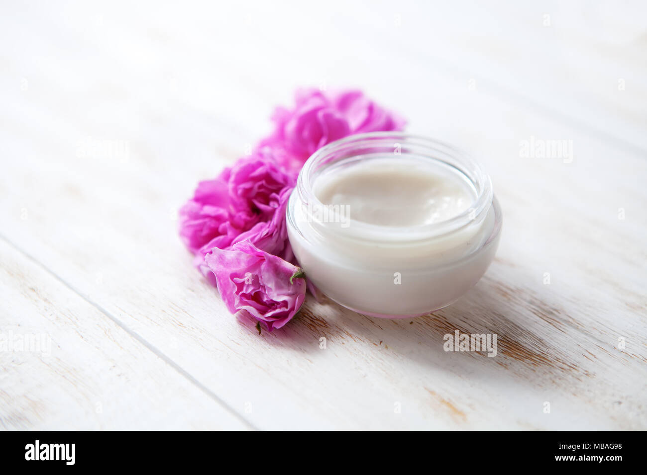 Tired skin cosmetic cream facial skincare medical treatment therapy, anti aging hydrate dermatology professional cleanser moisturizer natural hygiene  Stock Photo