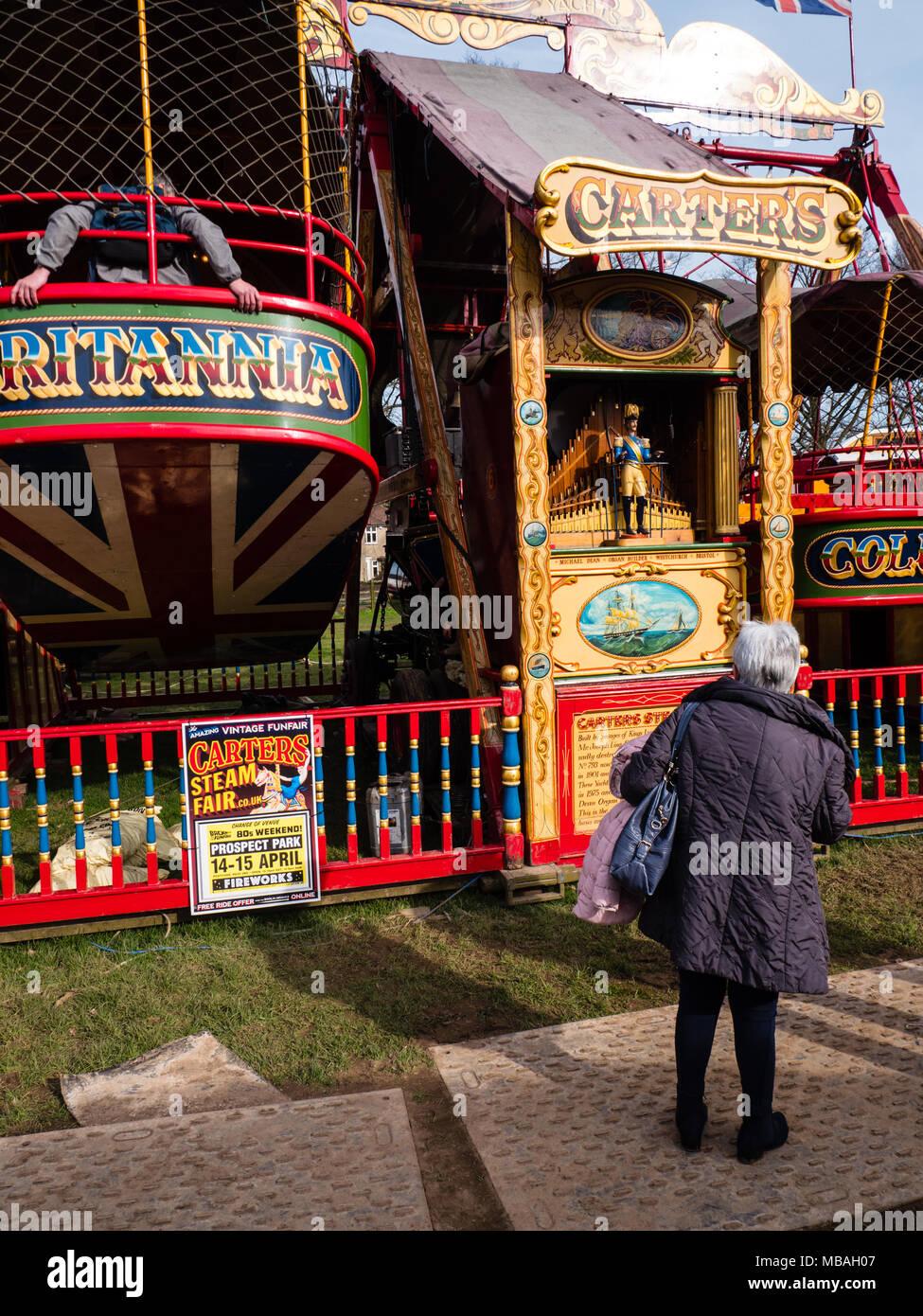 Steam Yachts Carters Steam Fair Prospect Park Tilehurst Reading