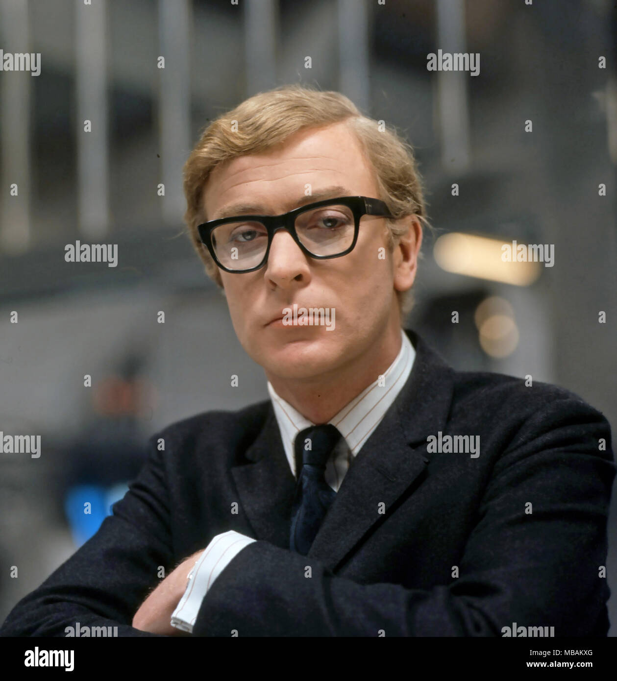 Michael Caine Glasses Stock Photos Michael Caine Glasses Stock