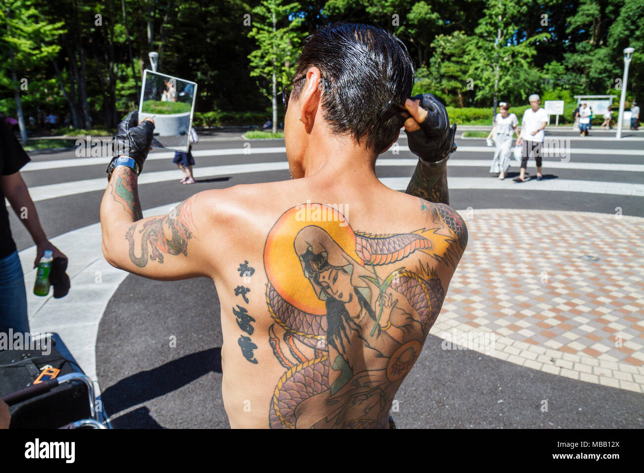 Asian gang tatoos have