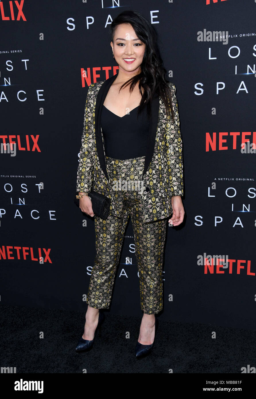 Hollywood, CA, USA. 9th Apr, 2018. Kiki Sukezane. NETFLIX\'s \'\'Lost ...