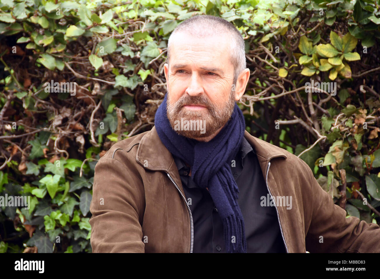 Rome Italy 10 April 2018 Cinema House - Photocall film presentation THE HAPPY PRINCE L'ULTIMO RITRATTO DI OSCAR WILDE, Rupert Everett protagonist and director of the film. Credit: Giuseppe Andidero/Alamy Live News - Stock Image