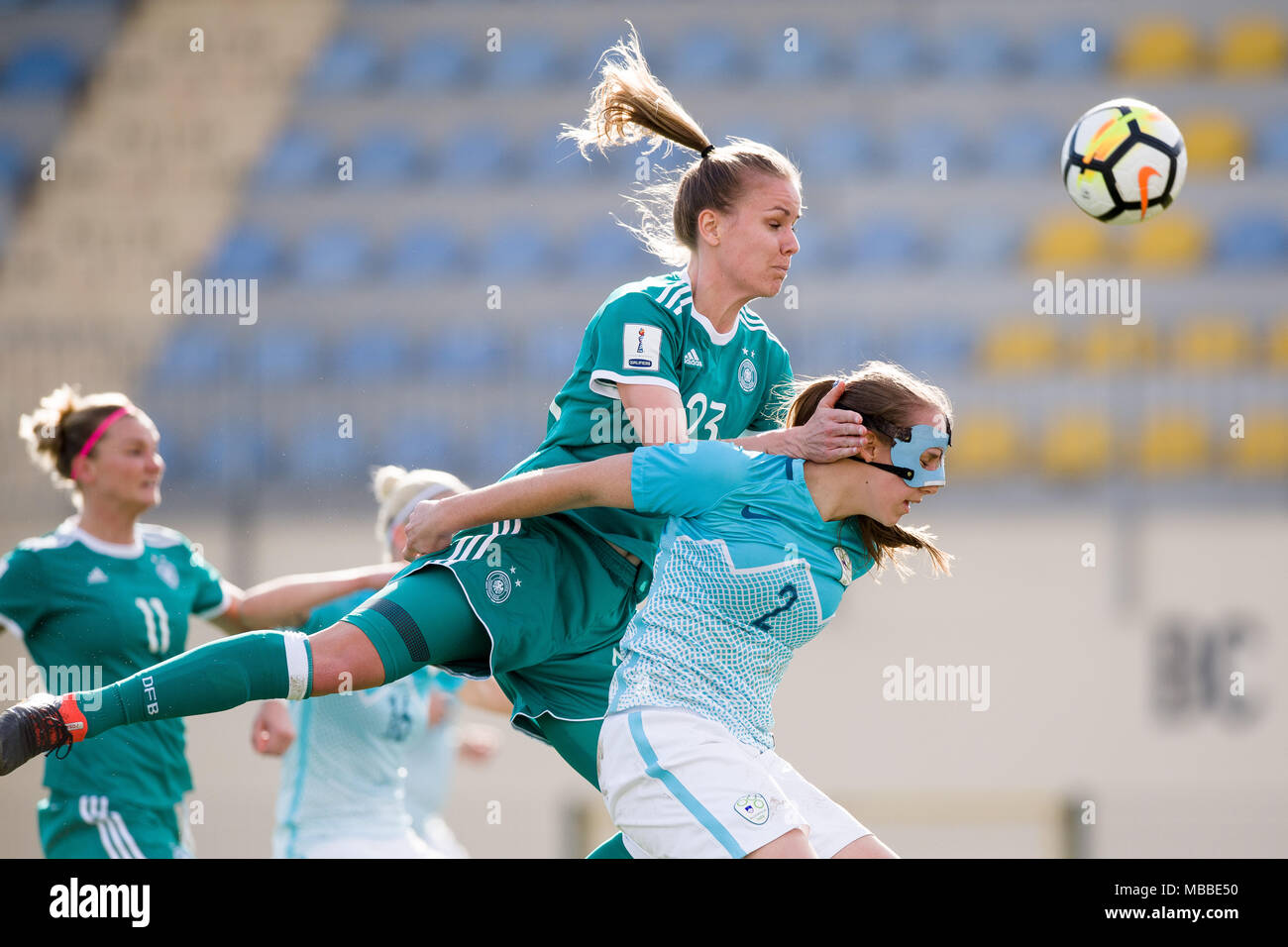 Popular Europe World Cup 2018 - 10-april-2018-slovenia-domzale-soccer-womens-world-cup-qualification-europe-group-stages-slovenia-vs-germany-germanys-lena-petermann-c-and-slovenias-lana-golob-r-in-action-photo-sasa-pahic-szabodpa-MBBE50  Picture_8583 .jpg