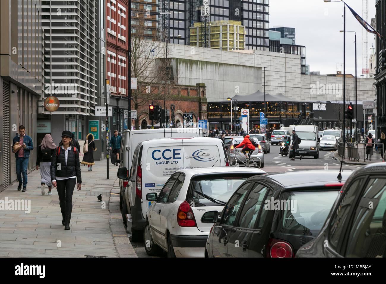 Richmix, Bethnal Green Road, Shoreditch, London - Stock Image