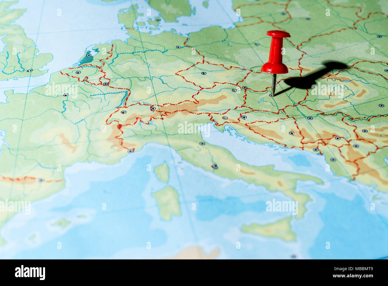 Budapest City Map Stock Photos Budapest City Map Stock Images Alamy