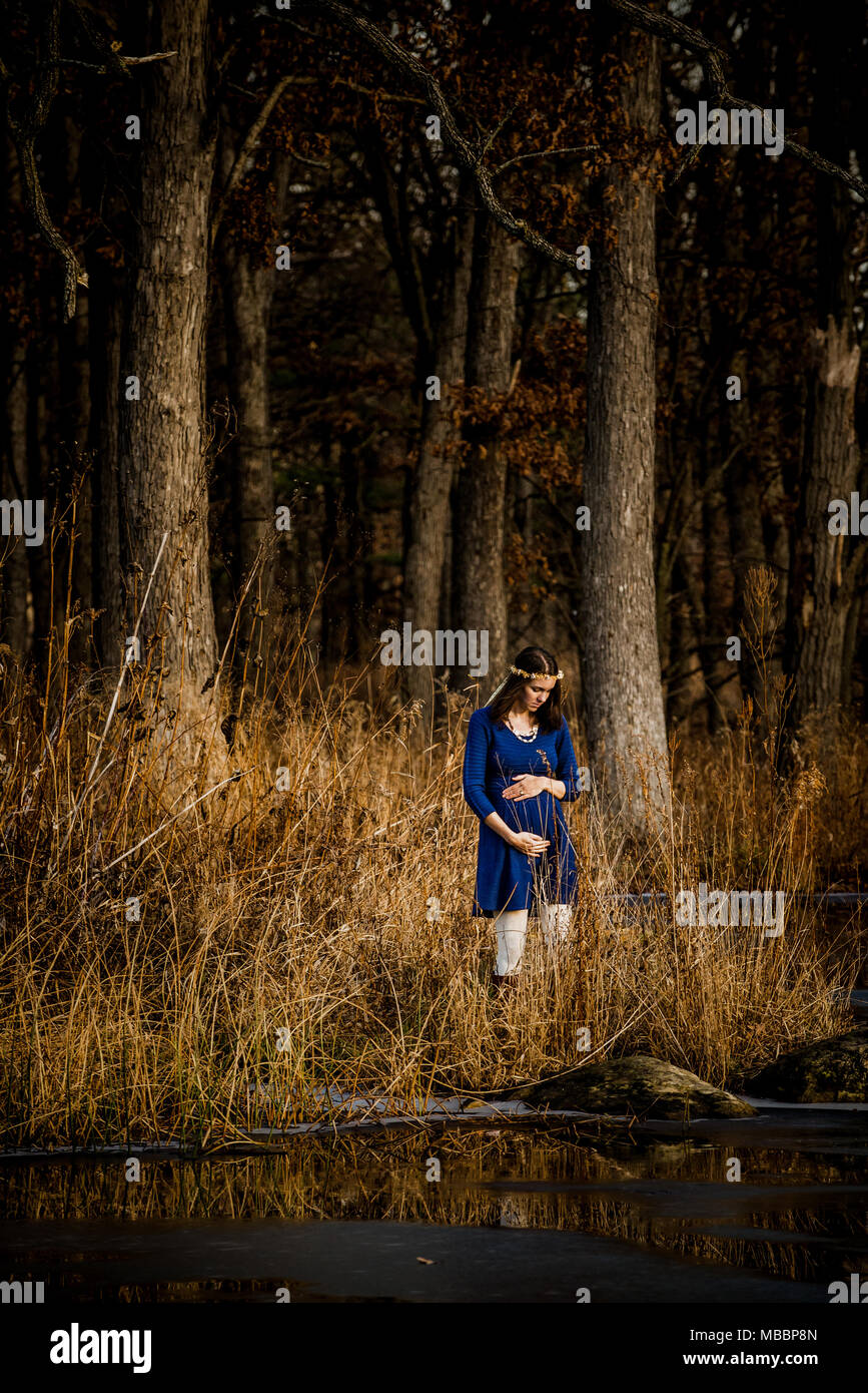 Spiritual Mother - Stock Image