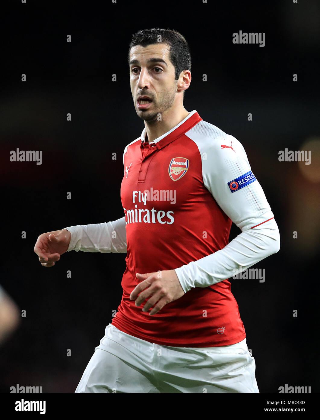 super popular 6148f 219c8 Henrikh Mkhitaryan, Arsenal Stock Photo: 179131553 - Alamy