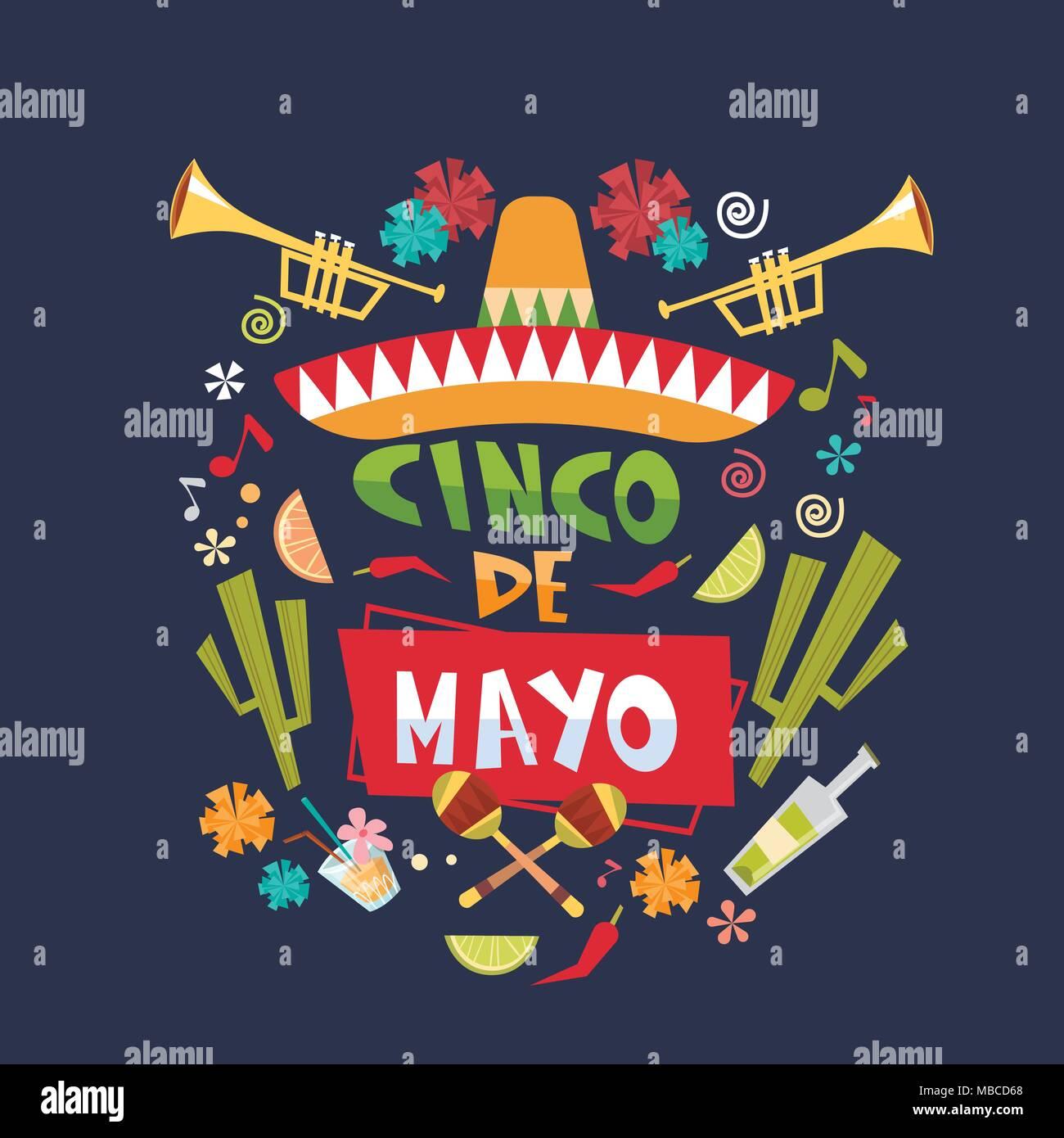 Viva mexico sombrero poster icon stock photos viva mexico sombrero cinco de mayo background mexican holiday greeting card or poster design stock image m4hsunfo