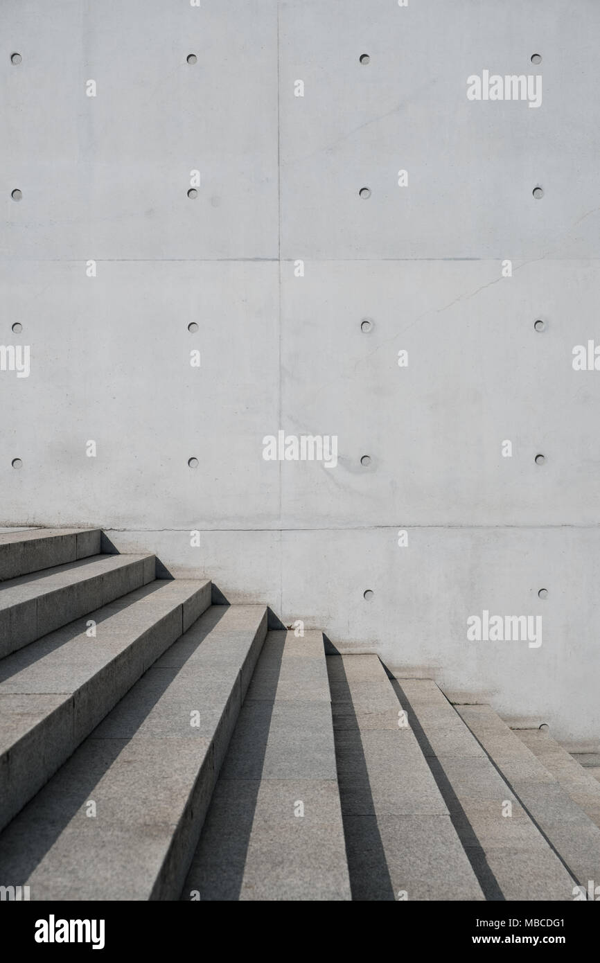 Exposed Concrete Walls Ideas Inspiration: Stone Concrete Step Stock Photos & Stone Concrete Step