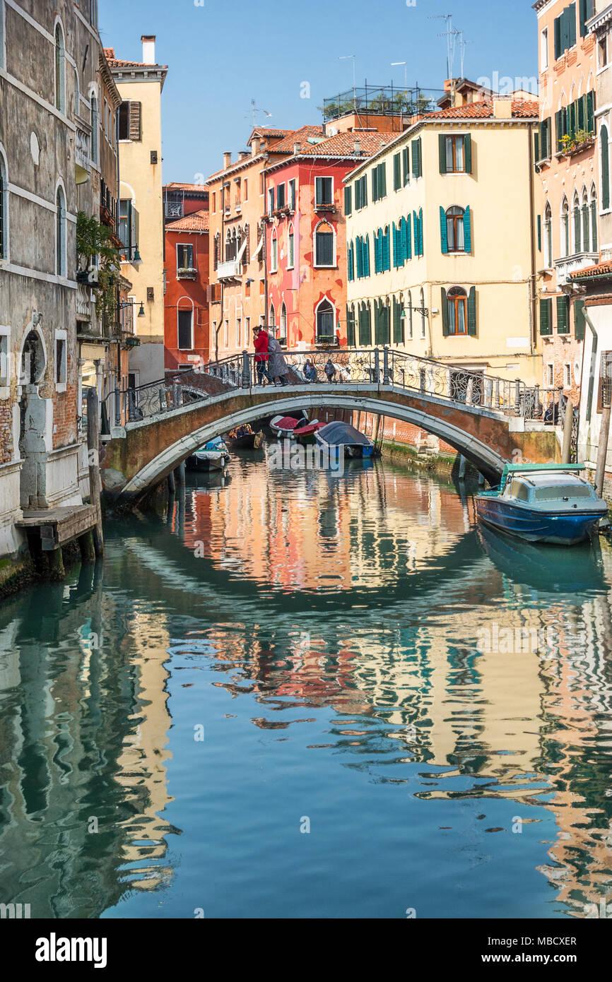 Ramo Va in Campo in Venice Italy - Stock Image