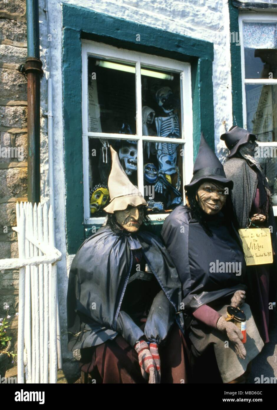 Exterior of the ' witchcraft shop ' ,