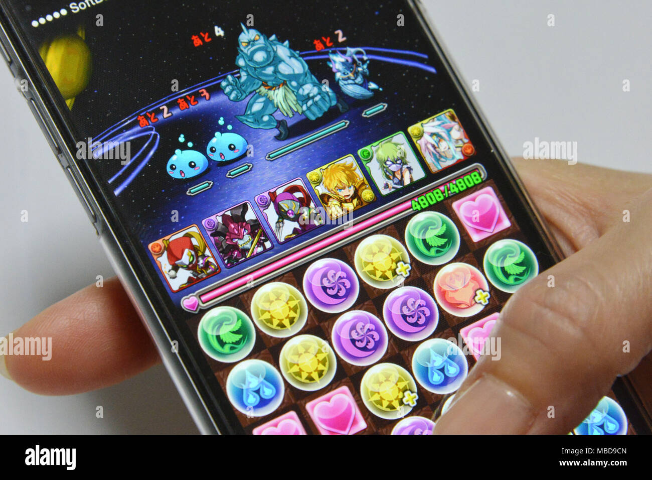 Puzzle & Dragons, puzzle video game for iPad, iPhone, iPod Touch and