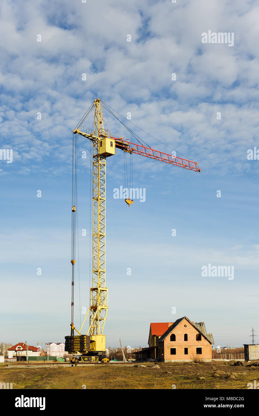 Cranes Quality Siding And Windows Industrial High Rise