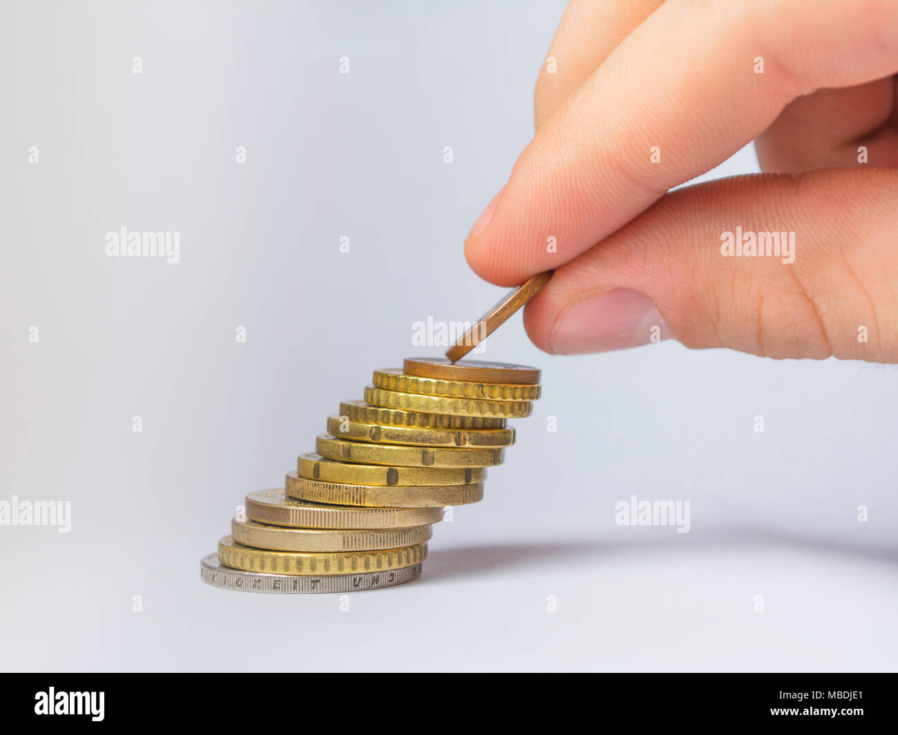 Saving money concept. - Stock Image