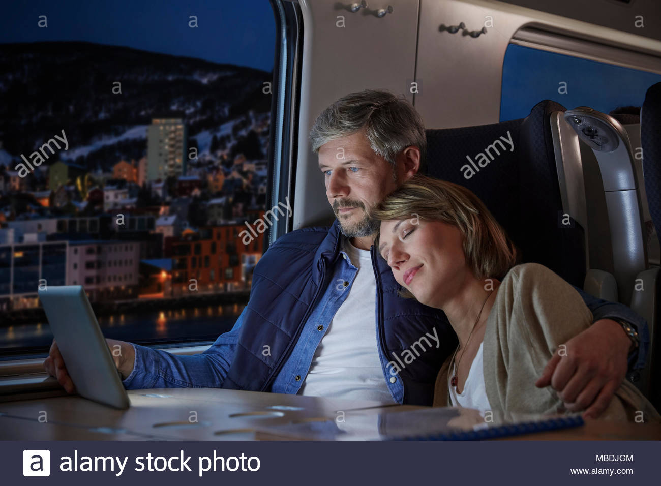 Wife Watching Husband Sleeping Stock Photos  Wife Watching Husband Sleeping Stock -2591