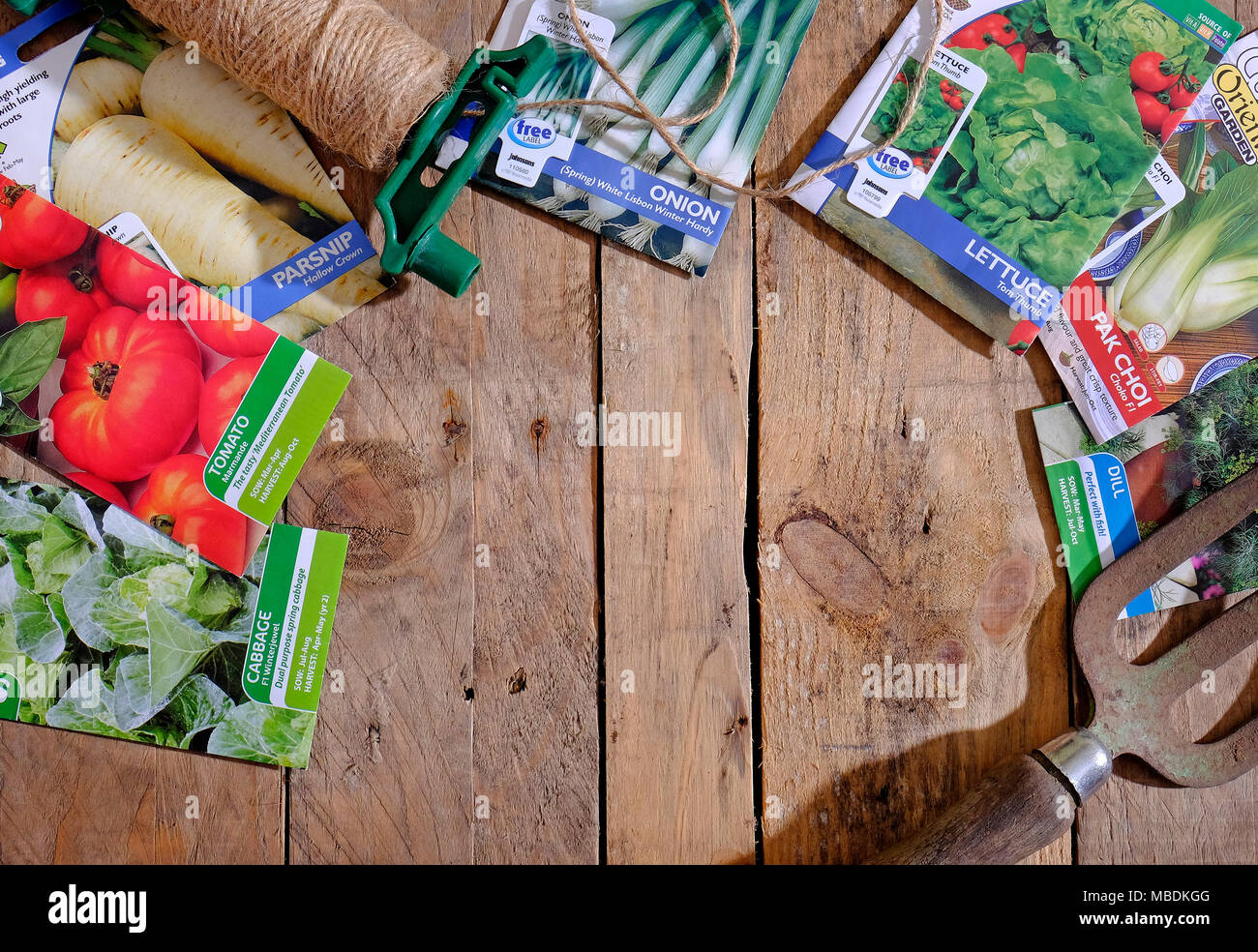 Vegetable Seed Packets Stock Photos & Vegetable Seed Packets Stock ...