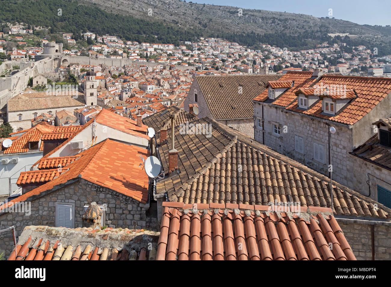 old town, Dubrovnik, Croatia Stock Photo