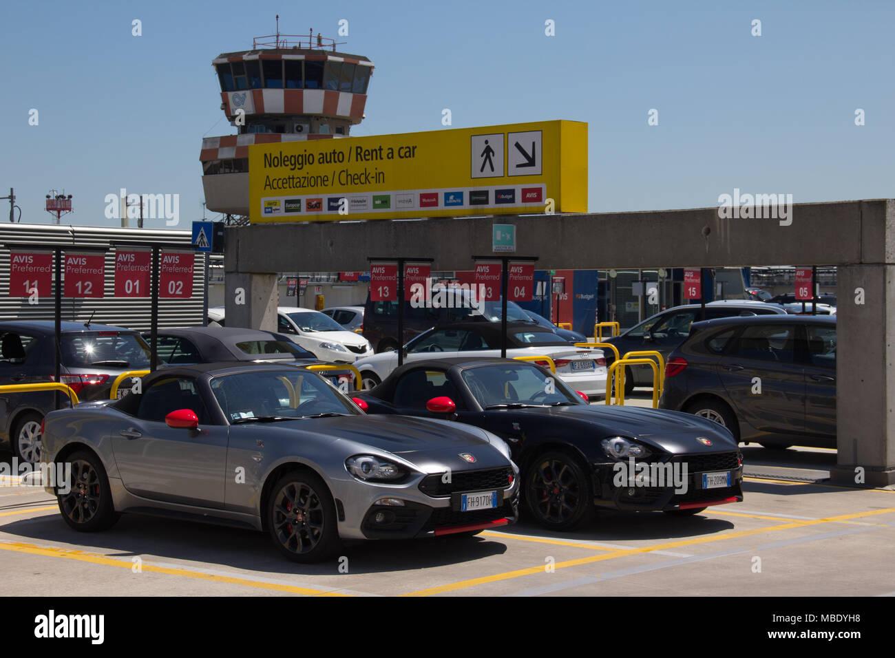 Rental Cars Near Venice Airport Italy Stock Photo 179171924 Alamy