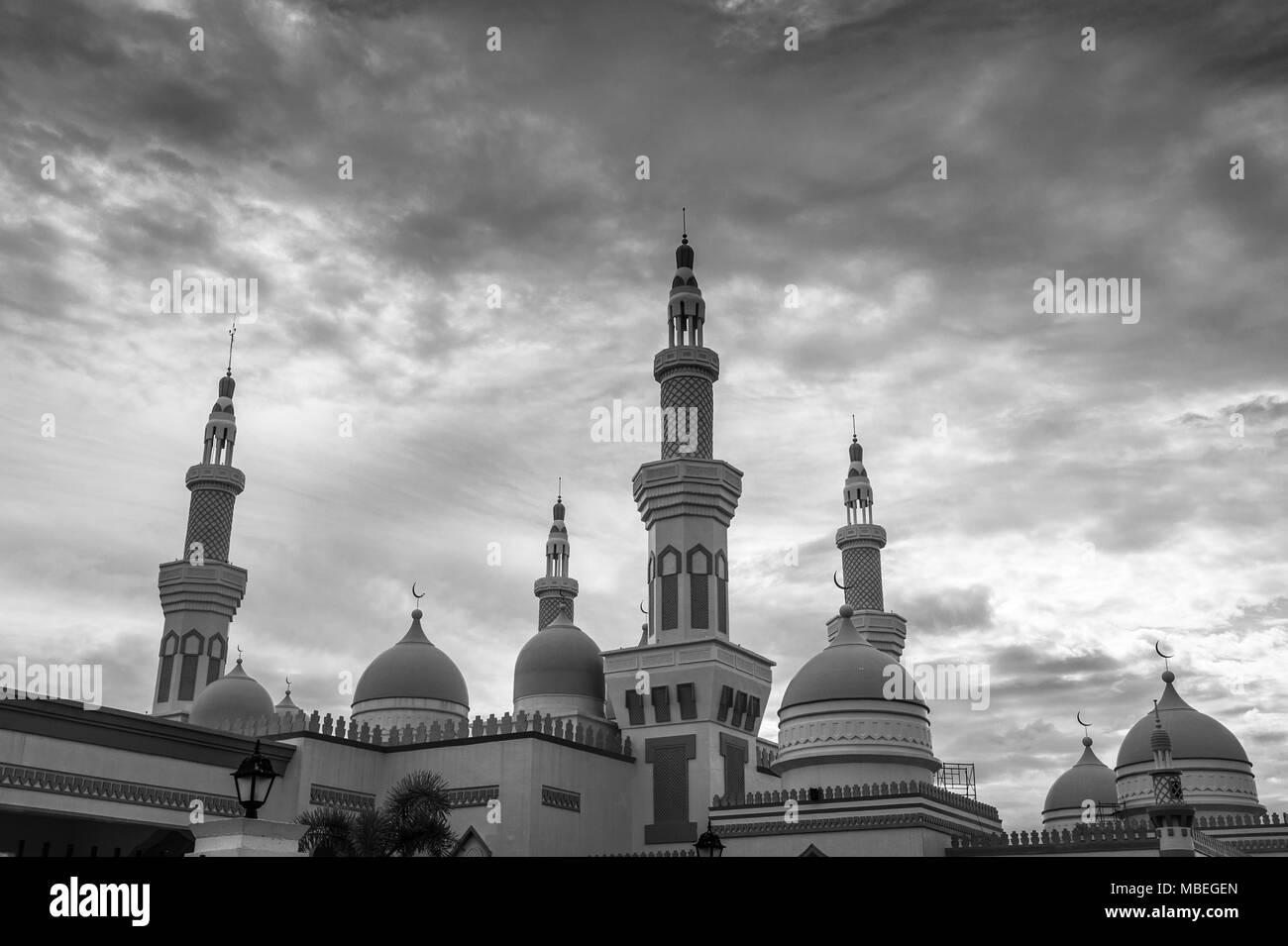 The Golden Mosque of Cotabato City, Mindanao, Philippines - Stock Image