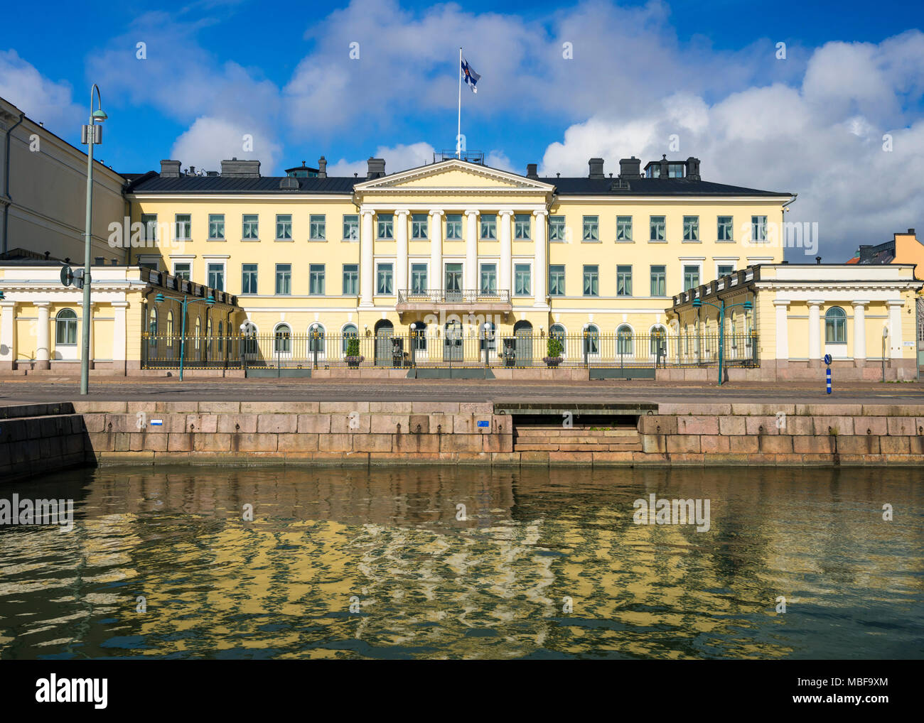 The Presidential Palace, Helsinki, Finland, Europe - Stock Image