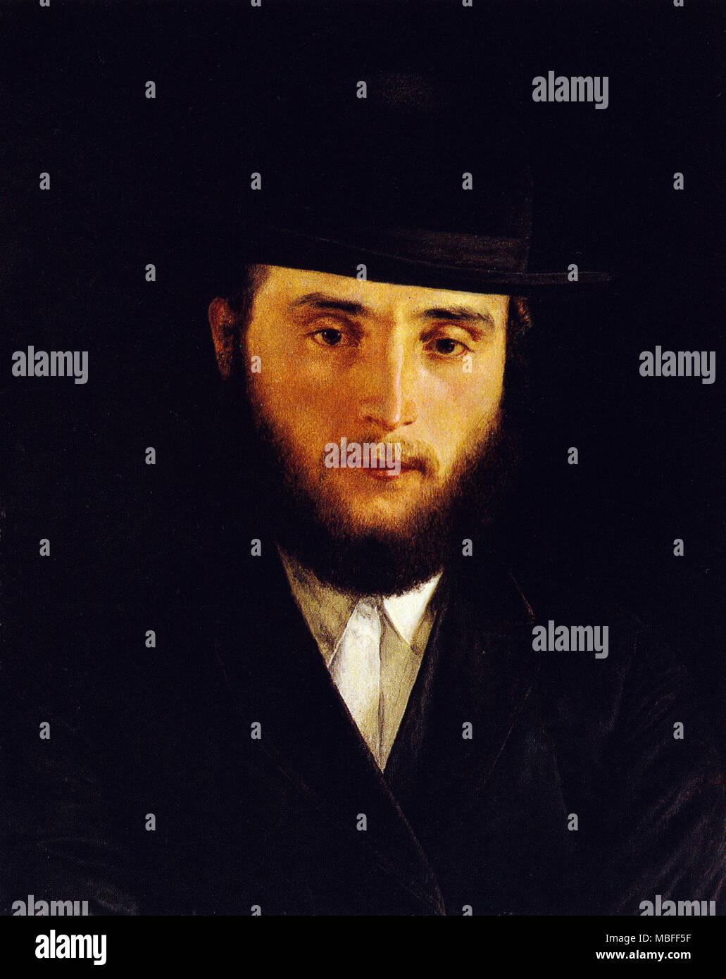 Talmudic scholar - Stock Image