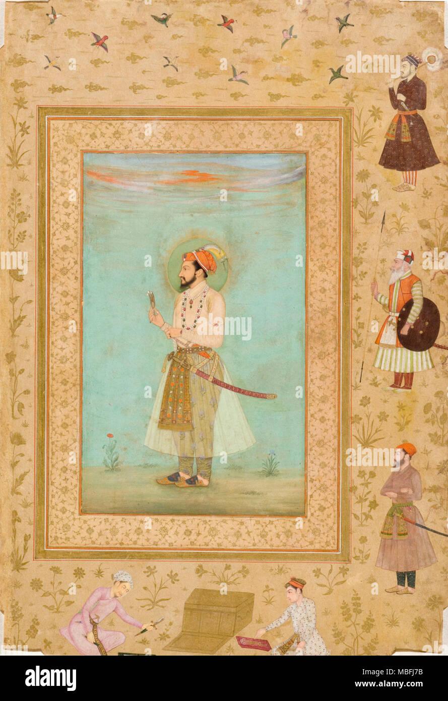 Emperor Shah Jahan - Stock Image