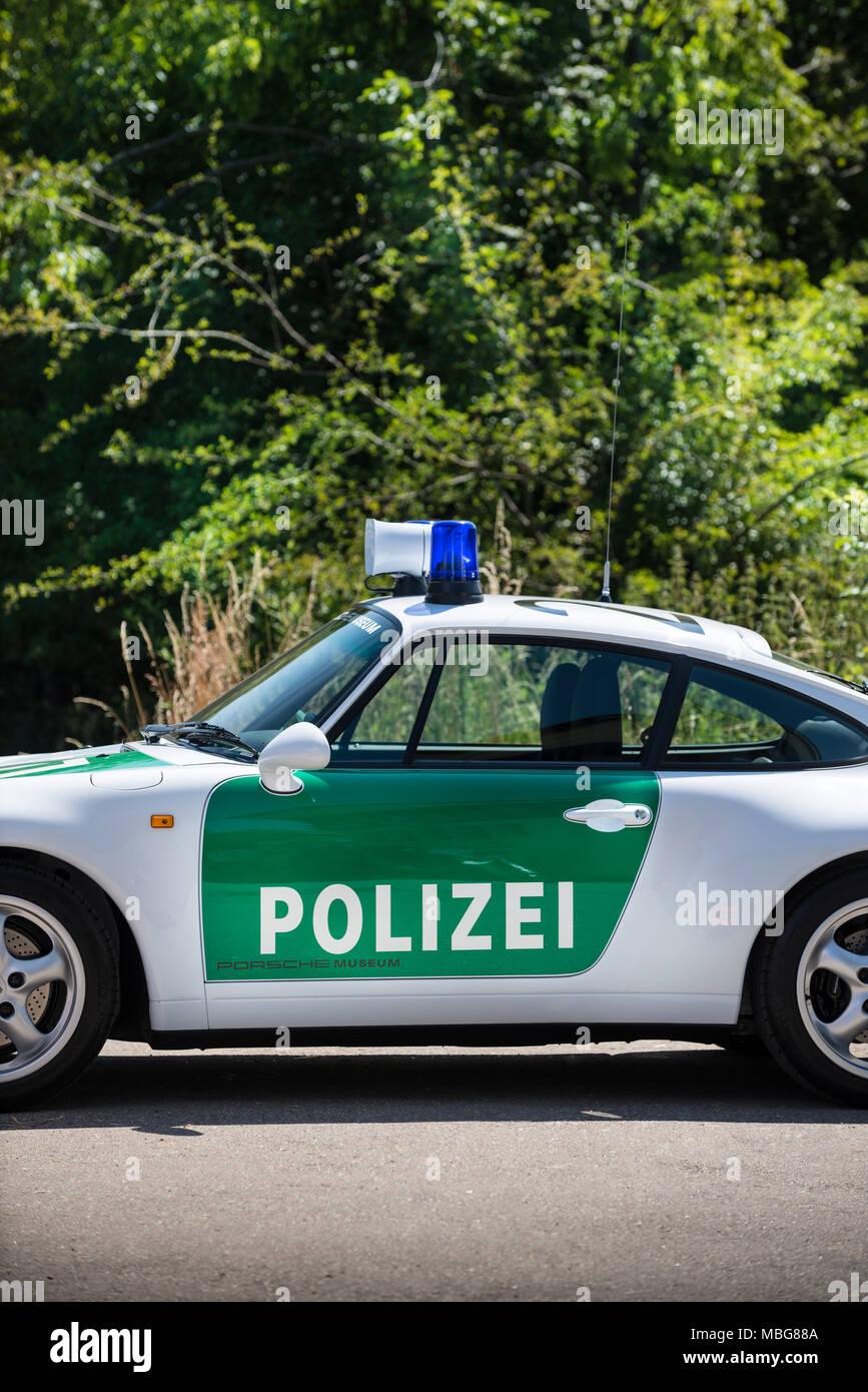 police car stuttgart germany stock photos police car. Black Bedroom Furniture Sets. Home Design Ideas